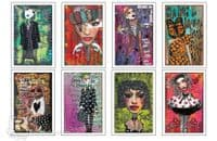 Dylusions - Adhesive Canvas Sheets - Images #2